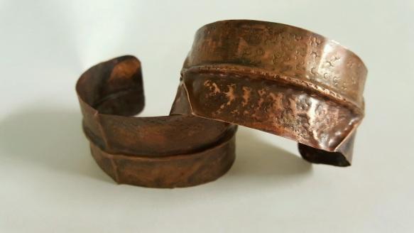 Whittington Image 3 Copper Cuffs