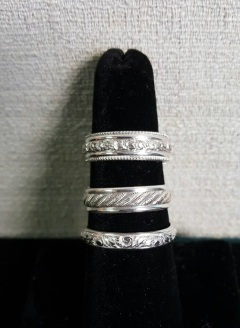 Whittington Image 5 Sterling Silver Bands